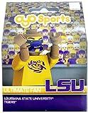 OYO NCAA LSU Tigers Ultimate Fan Minifigure, Small, Black