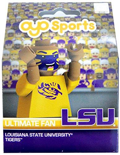 NCAA LSU Tigers OYO Ultimate Fan Minifigure, Small, Black (Ultimate College Sports Fan)
