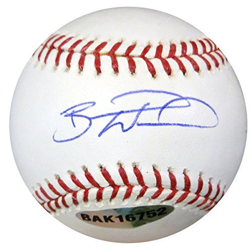 Brandon Wood Autographed Official MLB Baseball MLB Holo #BB449775