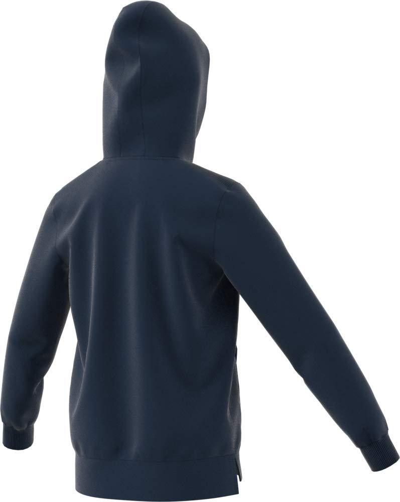 adidas Kids Club Hooded Tennis Sweatshirt, Collegiate Navy/White, X-Large