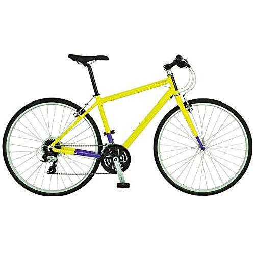 ライトウェイ(RITEWAY) クロスバイク シェファード シティ フェスティバルイエロー/パープル 420mm B01620AJPC