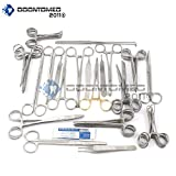 OdontoMed2011 FELINE + CANINE SPAY PACK 91 PIECE PREMIUM STAINLESS STEEL VETERINARY SET ODM