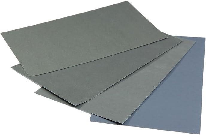 NAGOLEN - Rollo de Papel abrasivo (6 Unidades, Resistente al Agua ...