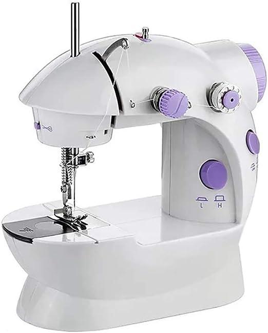Kasfam Mini Sewing Machine Máquina de Coser eléctrica para ...