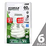 Best Feit Electric Light Bulbs - Feit BPESL13T/GU24 60W Equivalent CFL Twist GU24 Base Review