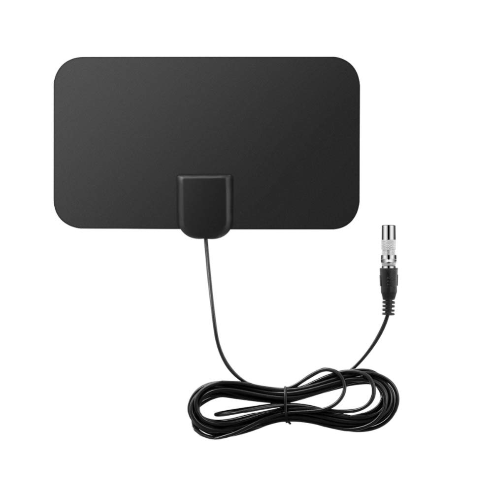 heaven2017 Portable Thin TV Antenna Digital HDTV 50-Mile Range Amplifier Indoor Receiver