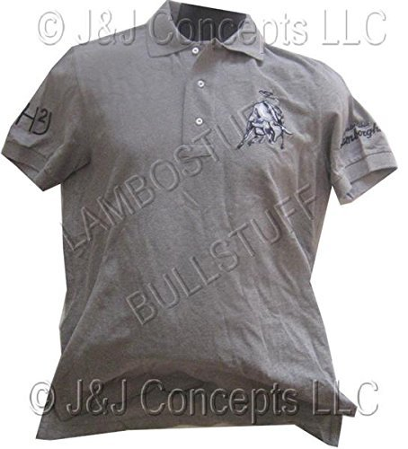 - Mens Grey Hydrogen Polo Shirt Size Small -50% OFF