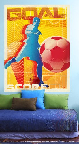 Oopsy Daisy That Stick Goal! by Juice Box Murals, 54 by 72-Inch by Oopsy Daisy