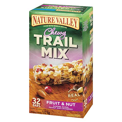 Nature Valley Fruit and Nut Chewy Trail Mix, 32-Count, 1120 Gram {Imported from Canada}
