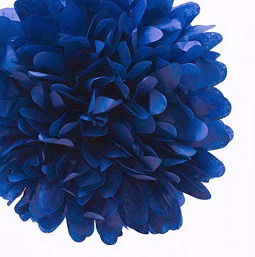 - Mikash 15X Mix 3 Size 4 8 12 Tissue Paper Pom-Poms Flower Wedding Party Home Decor   Model WDDNGDCRTN - 26657  