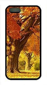 iPhone 5 5S Case nature 213 6 TPU Custom iPhone 5 5S Case Cover Black