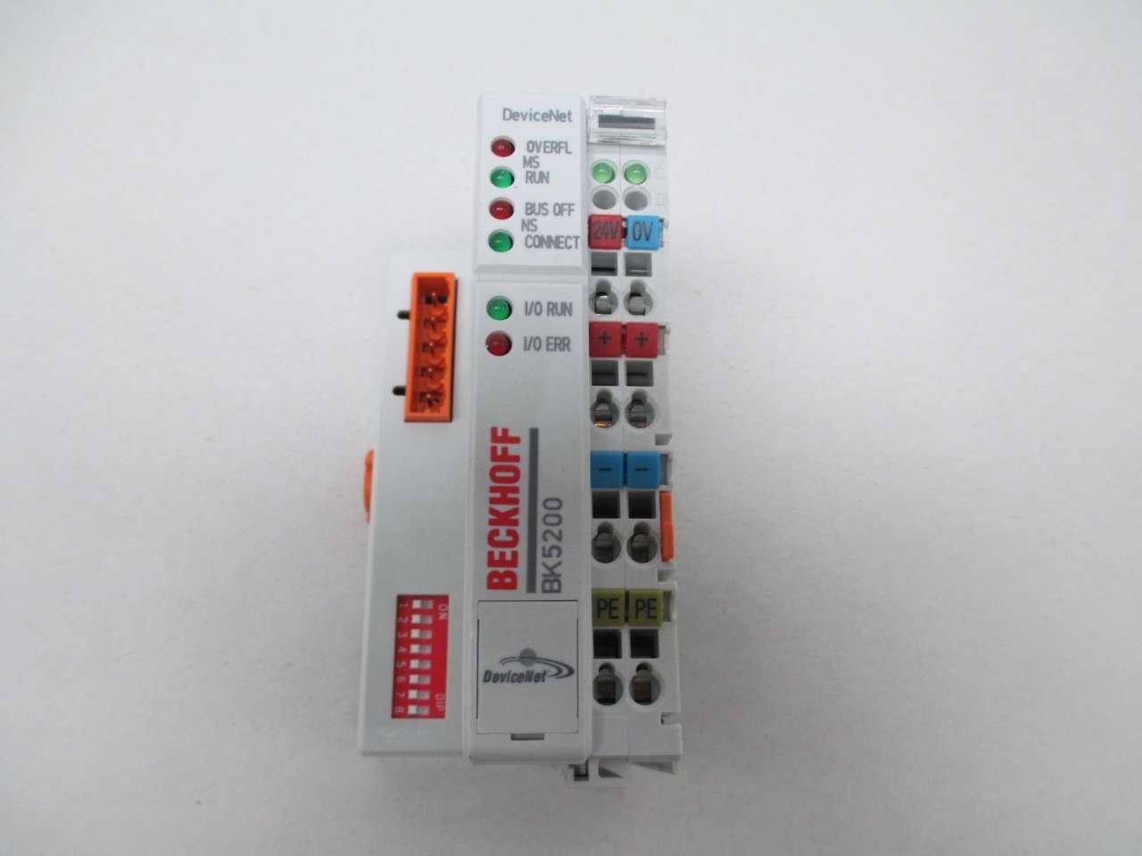 Beckhoff BK5220 DeviceNet Bus Coupler 24VDC NEU