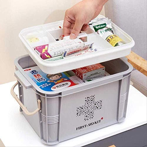 SMEI Medicine Box First Aid Kit Boîte De Plastique Container Emergency Kit Portable Multi-layer Large Capacity Storage… 2