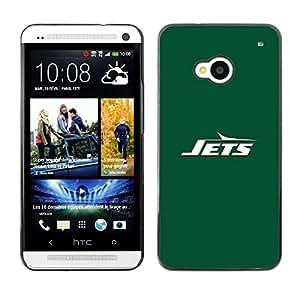 CHORROS - Metal de aluminio y de plástico duro Caja del teléfono - Negro - HTC One M7