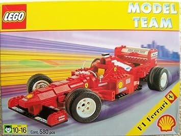 Amazon Com Lego Model Team 2556 Shell F1 Ferrari Race Car Toys Games