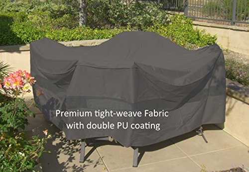 Center Umbrella (Premium Tight Weave Fabric Patio Set Covers 96