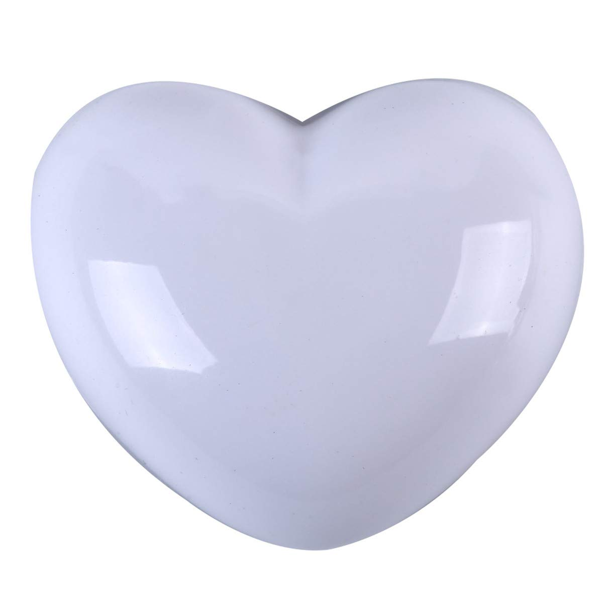 Weiy Wall Protection Door Stopper Cute Heart Shape Wall Buffer Door Damper, Wall Protection Suitable for Floor mounting