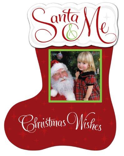 Malden International Santa & me Stocking 3x3 Picture Frame