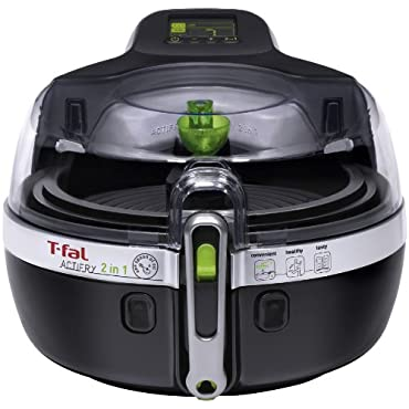 T-Fal ActiFry 2 IN 1 Multi-Cooker, Black (YV960151)