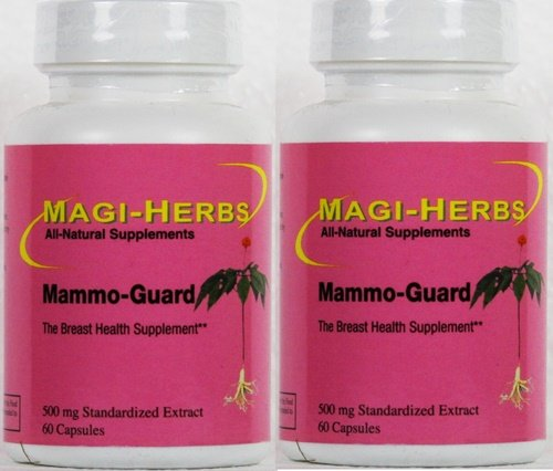 Mammo Guard 500 mg 60 Capsules 2 bottles