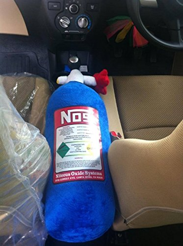 Origonal NOS TANK PILLOW Nitrous Oxide Stuffed Pillow Best Gift fast & furious (Gas Mask Tube Hose compare prices)