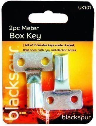 Llave Triangular de Caja de Medidor de Electricidad Contador de Gas x 2 de Acero: Amazon.es: Bricolaje y herramientas