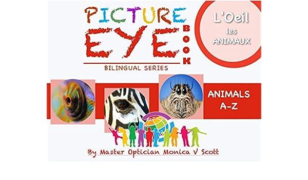 Animaux A-Z: Livre des yeux avec des peintures (Bilingual French-English Edition /Edition bilingue français-Inglés t. 1) (French Edition) eBook: Monica ...