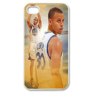 James-Bagg Phone case Basketball Super Star Stephen Curry Protective Case For Iphone 4 4S case cover Style-12