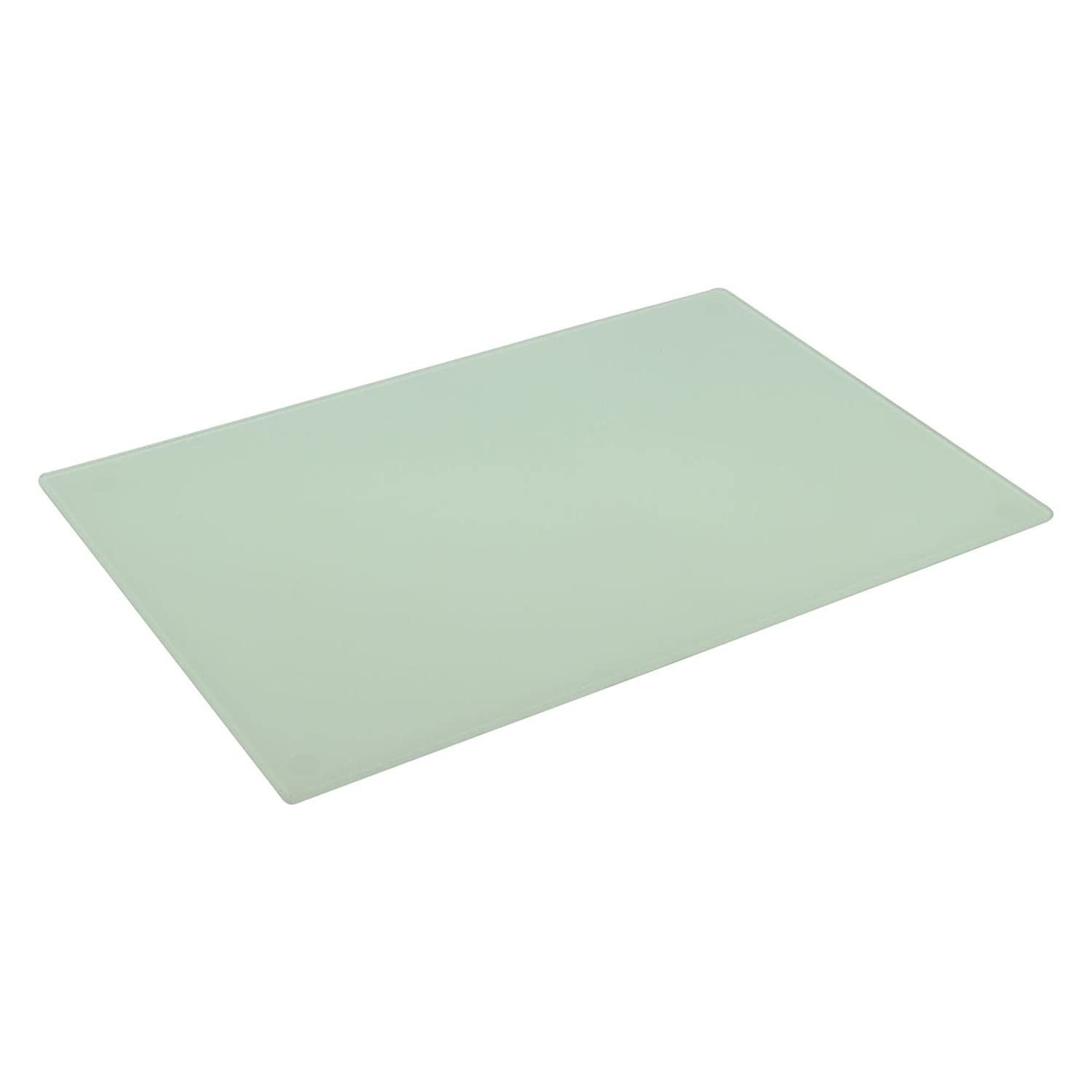 Harbour Housewares Glass Kitchen Chopping Board White 300mm x 200mm