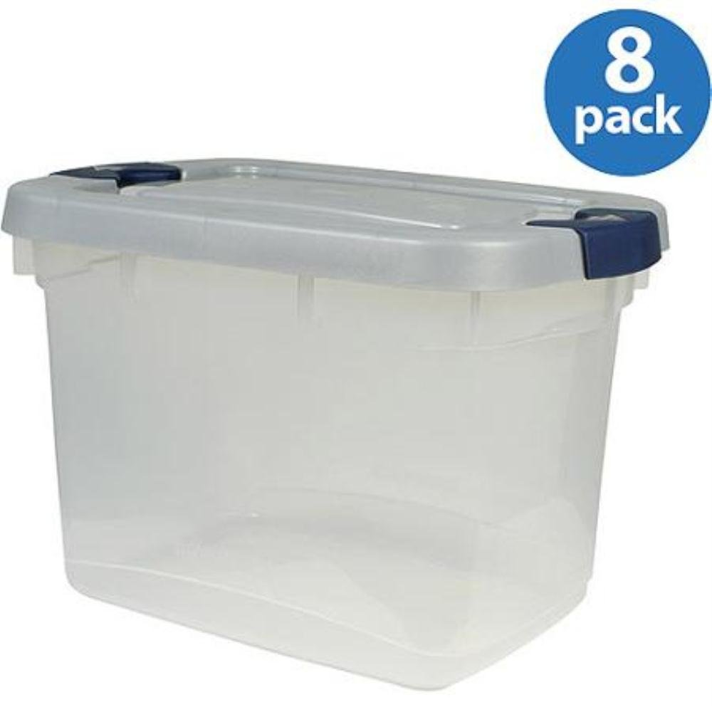 component rubbermaid plastic organizer lids workshop stackable bin clear parts containers full bins box small large storage shelves boxes size of picking transparent tubs with blue tub strong