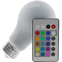 BULBO LED 3,5W 127V/220V RGB-COM CONTR REMOTO, LUMINATTI BY DANURI