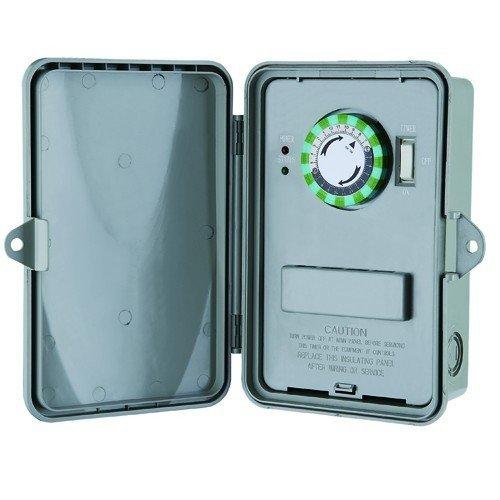 Morris 80460 24 Hour Multi-Voltage Time Control, Non-Metallic Enclosure, DPDT, 120-208-240-277V