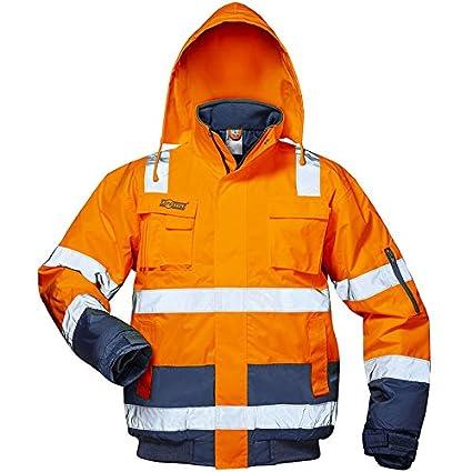 Elysee 23545-L Warnschutz Pilotjacke Jonas Grö ß e L in orange/blau