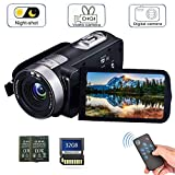 Best Camcorder Under 200s - Camcorder Digital Camera with IR Night Vision HD Review