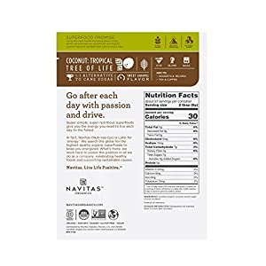 Navitas Organics Coconut Palm Sugar 16 Oz Bag Organic Non-gmo Gluten-free Sustainable by Navitas Naturals