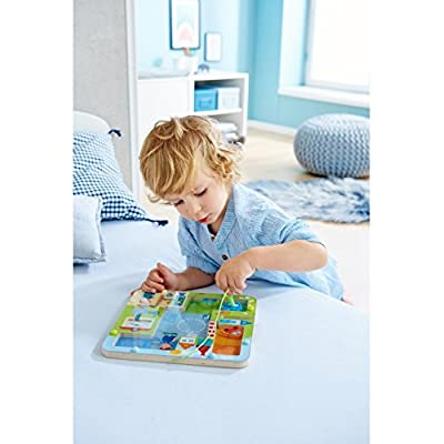 HABA 303419 On The Road Magnetic Game: Toys & Games