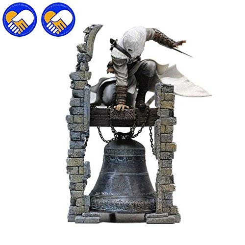 Anime Collectible Action Figure - New Anime Toys AC 3 Connor Kenway Haytham PVC Action Figure Black Flag Edward Kenway ETC Collection Model Best Collection Toys - 27cmBell - -