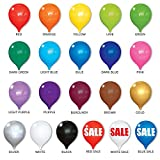 PermaShine Reusable Helium Free 13'' Replacement Balloons (4-Pack)