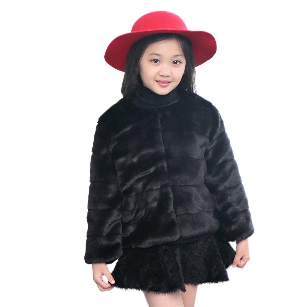 SK Studio Girls Faux Fur Jacket