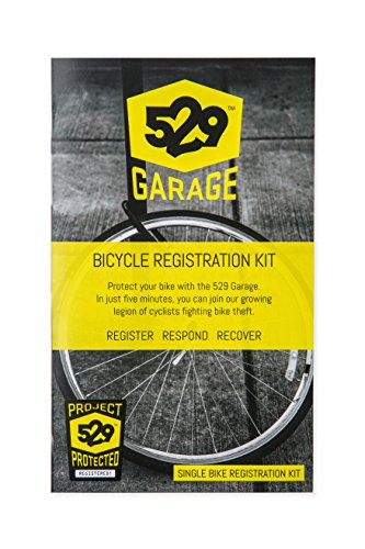 529 Garage Bicycle Registration Kit (US Edition) - One Bike Kit