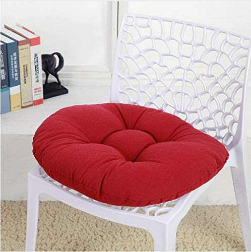 KWELJW Round Cushion Seat Cushion For Chair Car Office ...