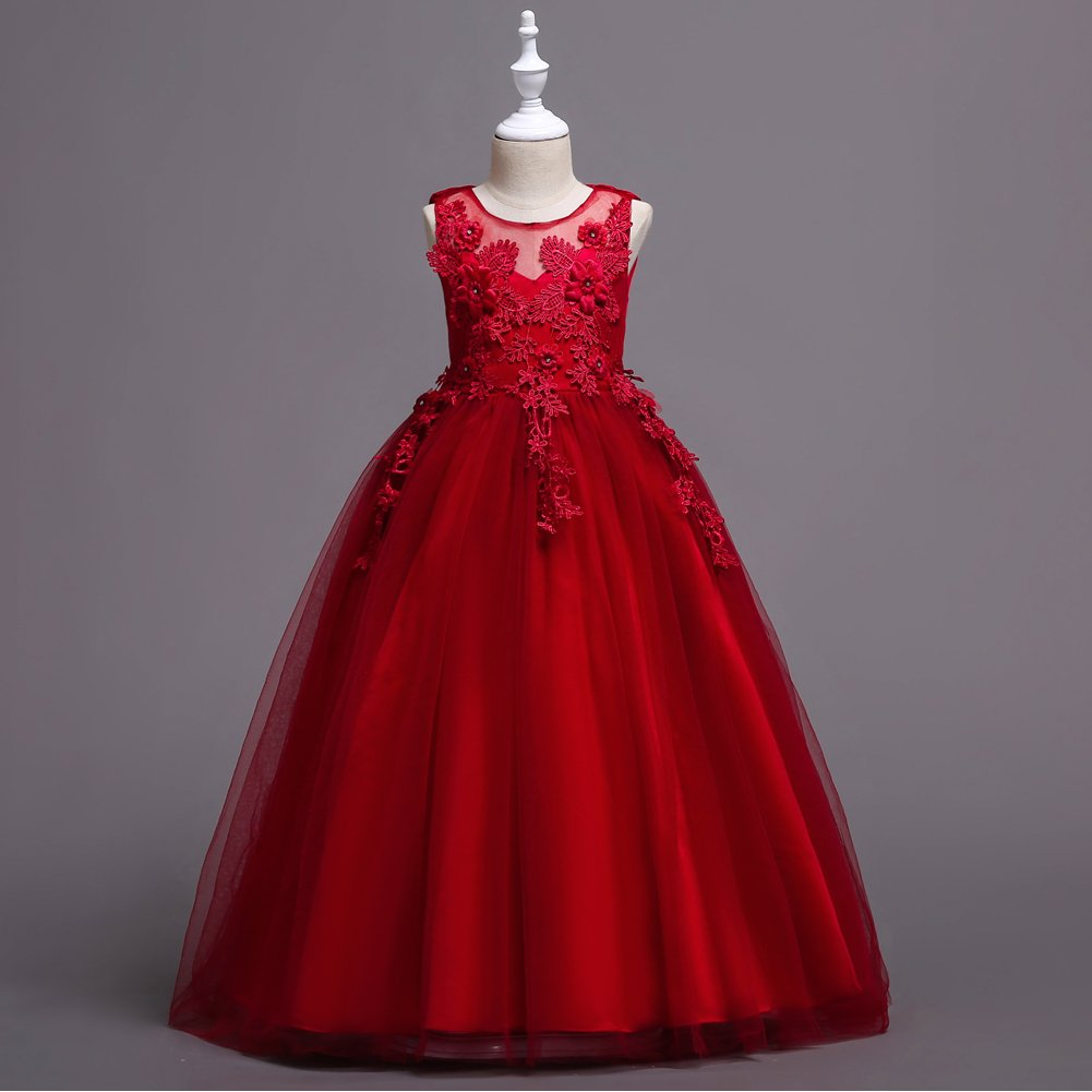 Amazon.com: ADHS Girls Special Occasion Dresses Kids Girl Long Dresses Prom Gowns: Clothing
