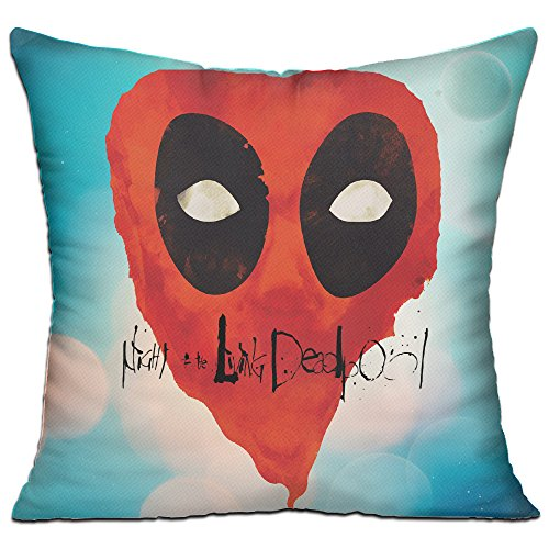 Mickey Mouse Stick Figure Costume (SAMMOI Dead 2 Pool Beauty Throw Pillow One Size)