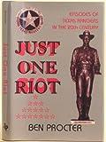 Just One Riot, Ben Procter, 0890158061