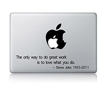 apple quotes. steve jobs quotes apple macbook laptop decal vinyl sticker mac air pro n