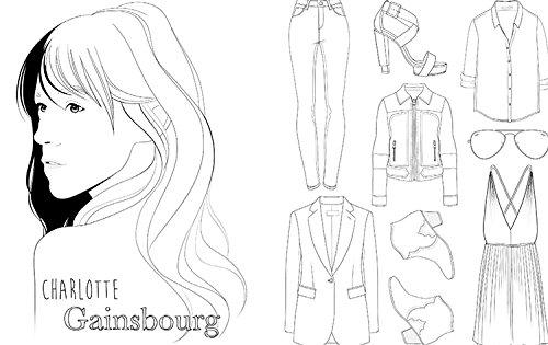 Mode Parisienne: A Fashion Coloring Book