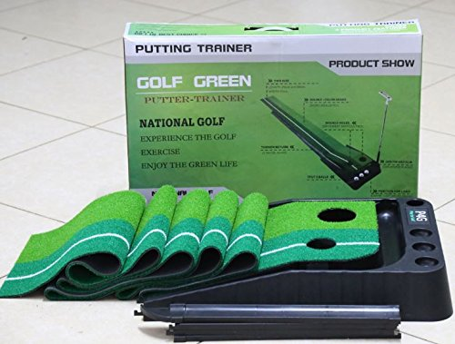 Indoor Golf Set P4G Ball Auto Return Putting Mat Indoor and Outdoor Mini Golf by P4G (Image #1)