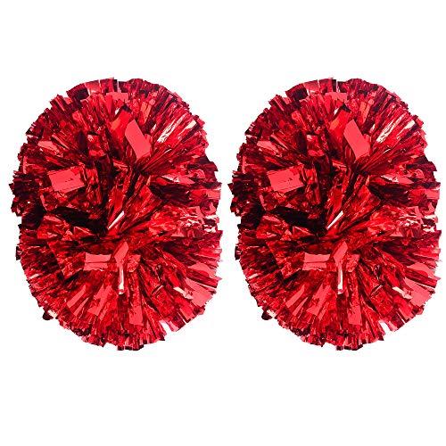 MOLPE Cheerleader pom poms (Red) ()