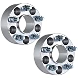 """ECCPP Hubcentric Wheel Spacers (2) 50mm (2"""") 5x4.5 to 5x4.5 For Ford Mustang Mach 1 Crown Victoria Edge Ranger Explorer Lincoln Town Car Mercury Mountaineer"""