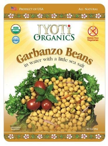 Jyoti Natural Foods Organic Garbanzo Beans, 10 oz